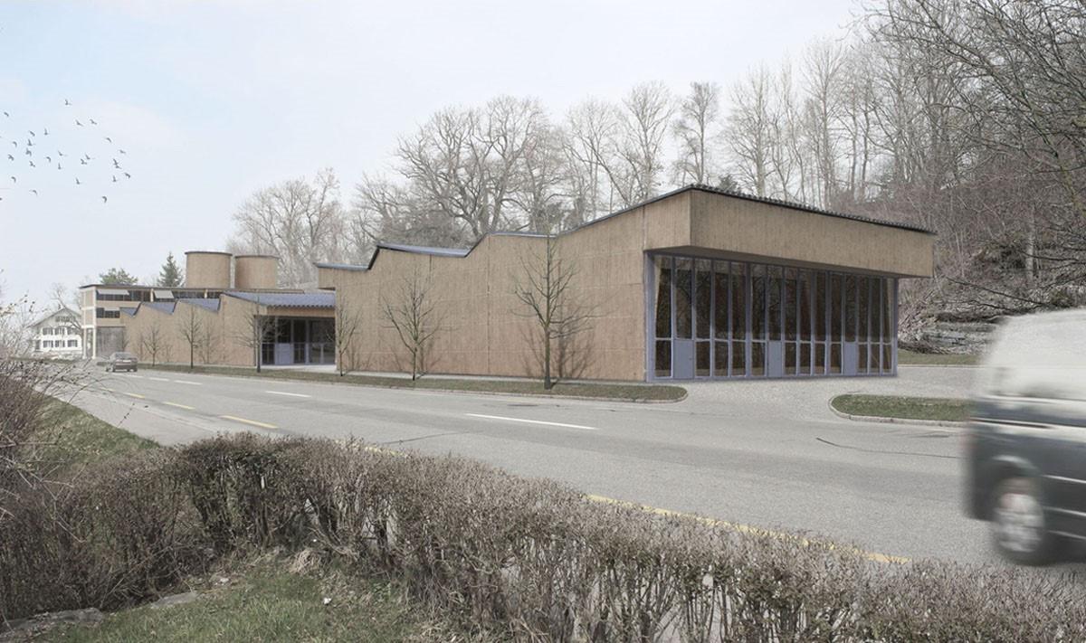 Werkhof und Verwaltung Münsingen